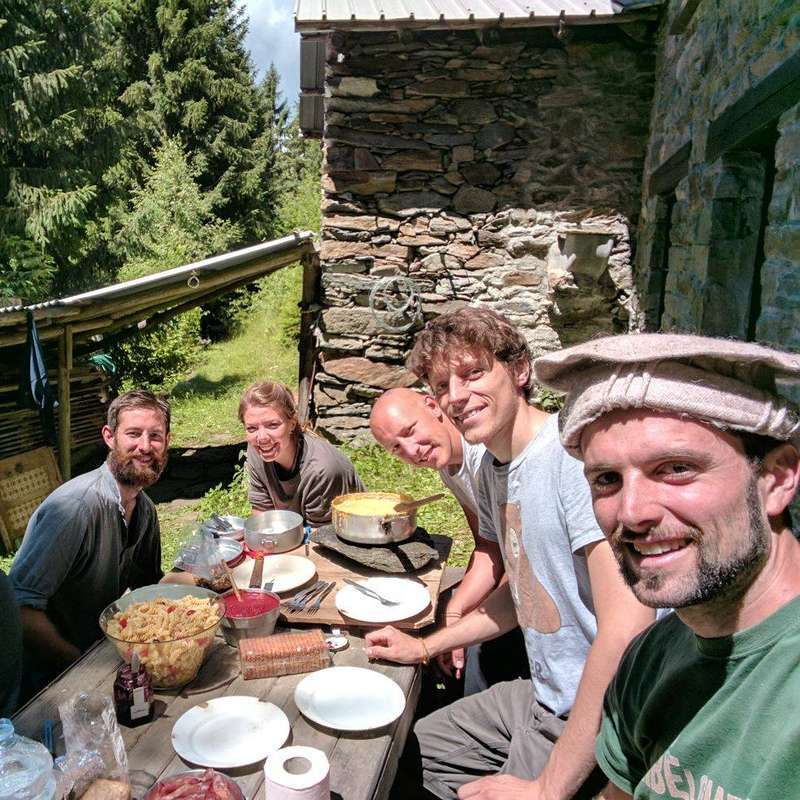 Zatoichi The Hut Group: Volunteer In Italy Helping A Group Of Friends Restore A