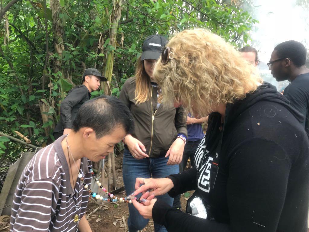 volunteer teaching english hai phong in vietnam south east asia